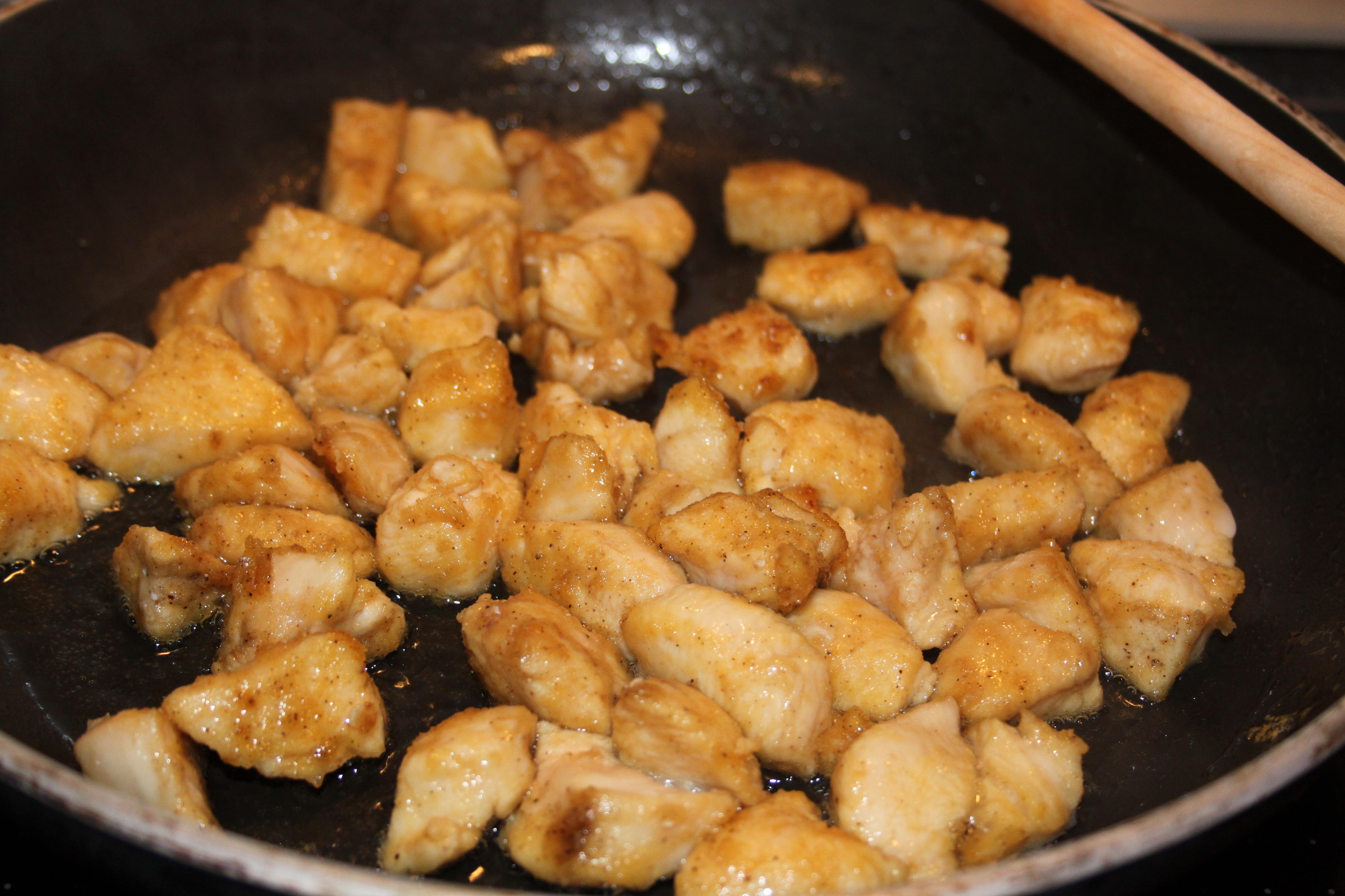 Hühnerbrust mit Ananas - 5