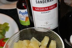 Hühnerbrust mit Ananas - 2